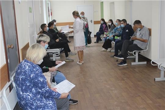 Алатырская районная больница присоединилась к Всероссийской акции «Помоги первым»