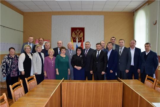 В Алатырском районе состоялось первое заседание Собрания депутатов Алатырского района VII созыва