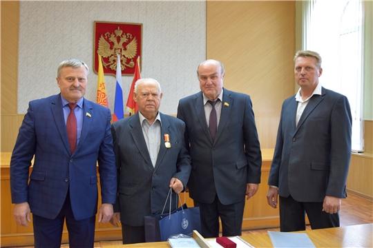 Летуновский В.И. награжден памятной медалью «100-летие образования Чувашской автономной области»