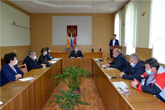 На заседании коллегии при главе администрации района рассмотрен вопрос по подготовке к работе в осенне-зимний период 2020-2021 годов