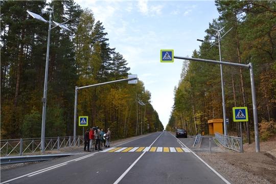 "В Чувашии ремонт дороги ""Шемурша - Сойгино - Алтышево"" закончили на год раньше"