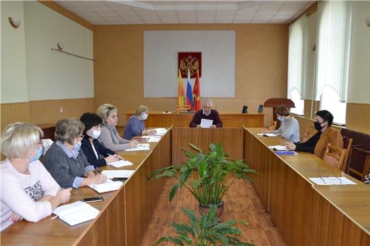 В Алатырском районе прошло совещание с заместителями директоров по воспитательной работе