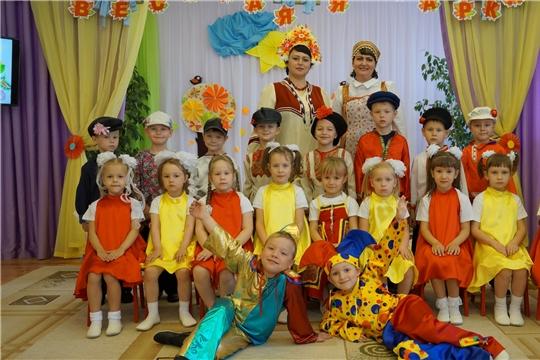 Покровская ярмарка с размахом прошла в Чуварлейском детском саду