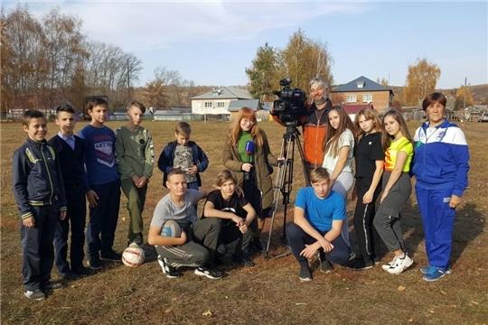 Съёмочная группа ГТРК «Чувашия» в гостях у Алатырского района