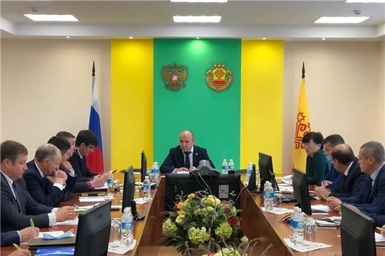"""Совещание с главами муниципальных образований по вопросу """"сельской ипотеки"""""""