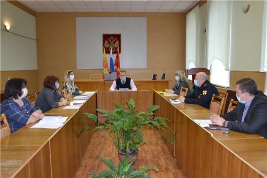 Заседание Комиссии по проведению Всероссийской переписи населения 2020 года на территории Алатырского района