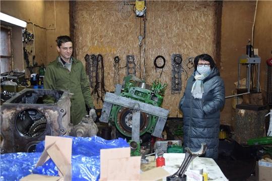 В ООО «КиПиАй Агро Сеченово» начали самостоятельно ремонтировать технику