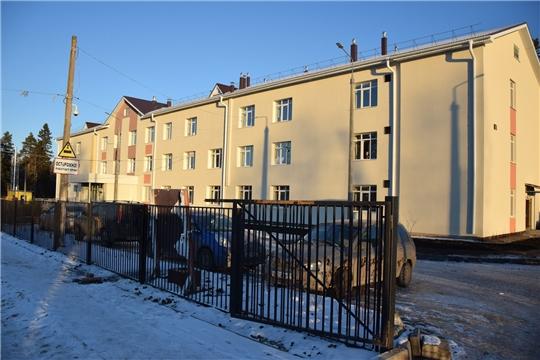 В поселке Киря Алатырского района продолжается реконструкция социально-оздоровительного центра «Вега»