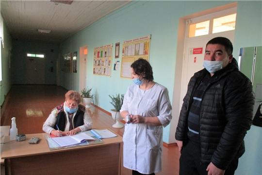 Мобильные группы Алатырского района продолжают свою работу