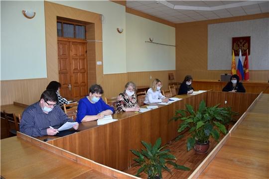 Расширенное заседание Межведомственной комиссии по вопросам повышения доходов консолидированного бюджета Алатырского района