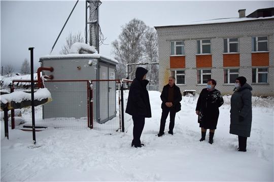 В МБОУ «Староайбесинская СОШ» произведен монтаж модульной котельной