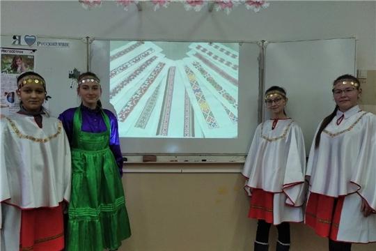 Познавательный час «Край ста тысяч вышивок» в поселке Первомайский