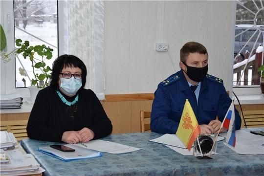 Выездное совещание администрации Алатырского района в Атратское сельское поселение