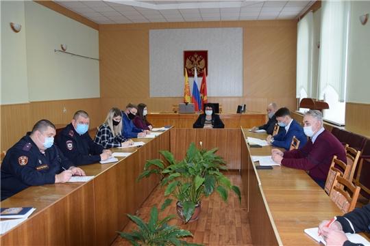 Очередное заседание оперативного штаба по вопросу предупреждения, завоза и распространения новой коронавирусной инфекции на территории Алатырского района
