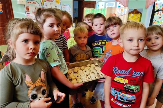 Чудеса из соленого теста в Чуварлейском детском саду «Колокольчик»