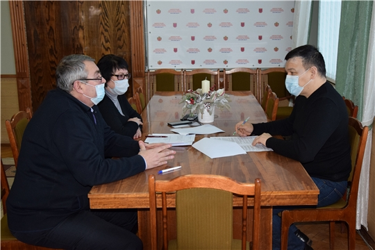 Рабочая поездка Руководителя Администрации Главы Чувашской Республики в Алатырский район