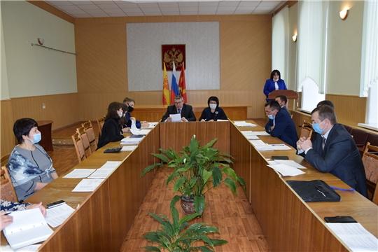 В Алатырском районе состоялось четвертое заседание Собрания депутатов Алатырского района седьмого созыва