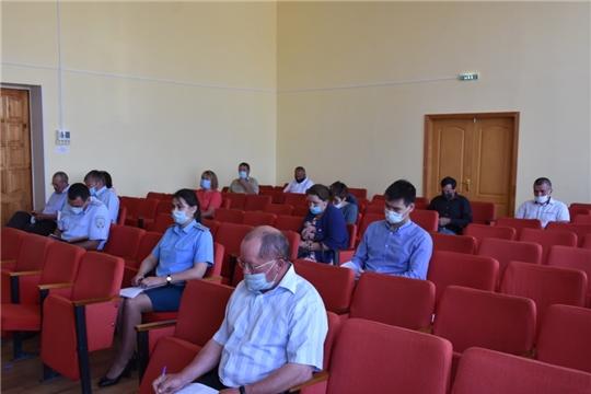 В Аликовском районе состоялось заседание антитеррористической комиссии