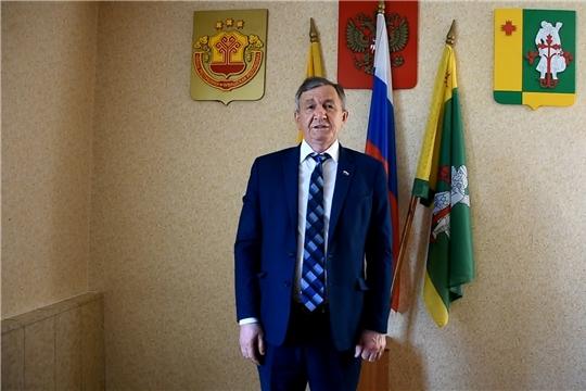 Поздравление главы администрации Аликовского района А.Н. Куликова с Днем молодежи