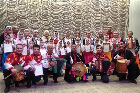 Народный фольклорный коллектив Районного Дома культуры «Валинкке» принял участие во Всероссийской акции «Единый день фольклора»
