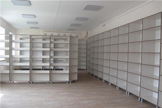 Завершаются ремонтные работы в Аликовской центральной и детской библиотеках