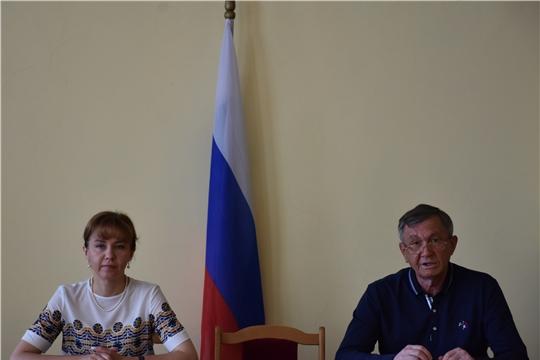 В Аликовском районе с рабочим визитом побывала министр труда и социальной защиты Чувашской Республики Алена Елизарова