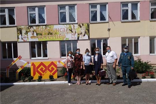 Оценка готовности  образовательных организаций Аликовского района к новому  2020-2021 учебному году продолжатся
