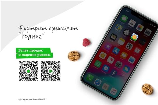 Новое мобильное приложение «Родина» для фермерских хозяйств, ЛПХ и сельскохозяйственных кооперативов