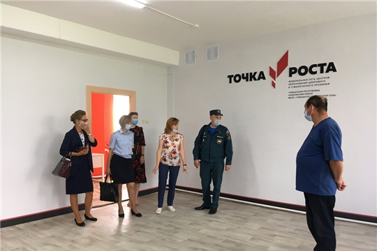 Чувашско-Сорминская школа готова к новому 2020-2021 учебному году