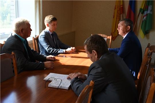 Руководитель Государственной ветеринарной службы Чувашской Республики посетил Аликовский район