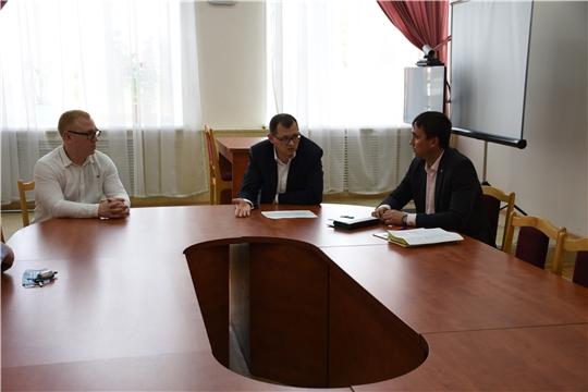 Руководитель Госжилинспекции Чувашии Виктор Кочетков посетил Аликовский район