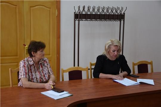 Руководитель Госслужбы Чувашии по конкурентной политике и тарифам Надежда Колебанова посетила Аликовский район