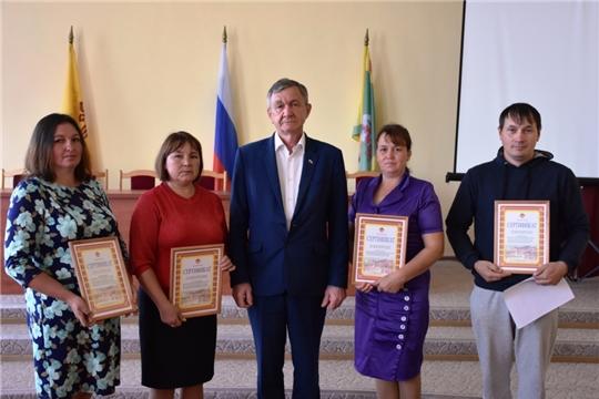 В Аликовском районе состоялось вручение сертификата о предоставлении земельного участка