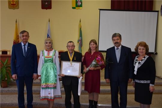 В Аликовском районе состоялось вручение ордена «За любовь и верность»