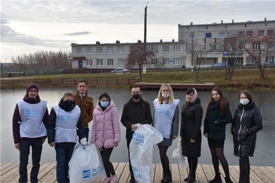 Молодежное правительство при администрации Аликовского района присоединилось к Всероссийской акции «Вода России»