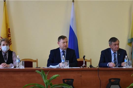 Состоялось III очередное заседание Собрания депутатов Аликовского района VII созыва