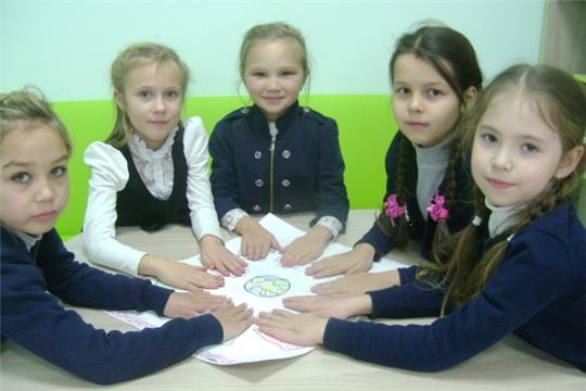 Сотрудники Аликовской детской библиотеки в рамках Дня толерантности провели час толерантности «Без добра на свете жить нельзя»