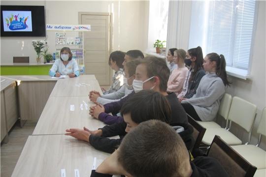 В Аликовской детской библиотеке состоялся актуальный разговор на тему «Стиль жизни - здоровье»