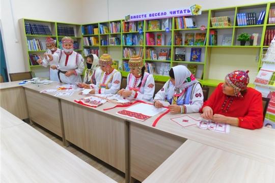 Мастер-класс по чувашской вышивке «Чăваш тĕрри илемĕ»