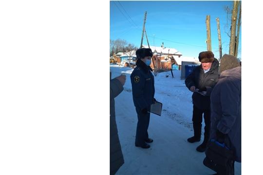 На территории Тенеевского сельского поселения прошел профилактический рейд
