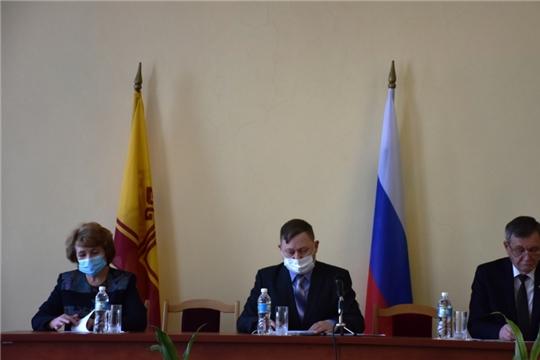 Состоялось IV очередное заседание Собрания депутатов Аликовского района VII созыва