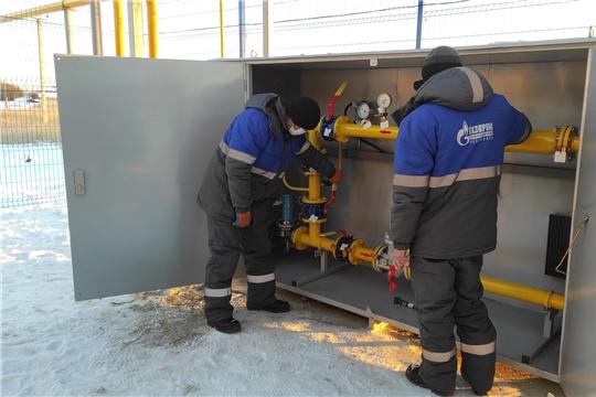 В Чувашии газифицировали две новые АГНКС