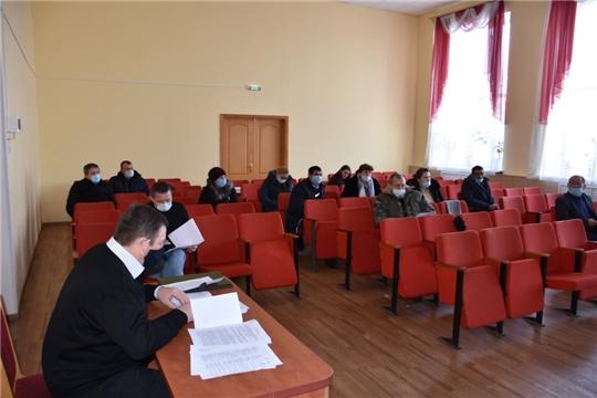 Состоялось совместное заседание антитеррористической комиссии и КЧС и ОПБ Аликовского района