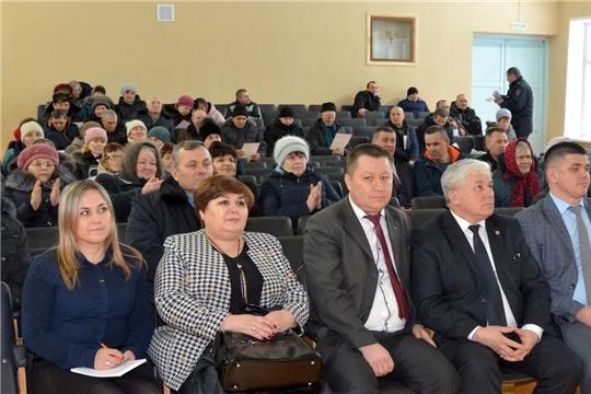 Публичный отчет главы Тарханского сельского поселения