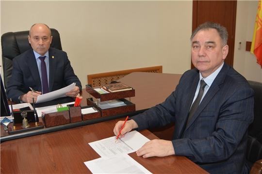 С руководителем МИФНС России №2 по республике обсуждены итоги года и задачи на новый год