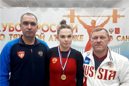 Наталия Шайманова – победитель, Александра Козлова – призер Кубка России по тяжелой атлетике