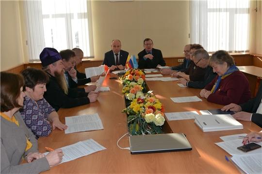 Заседание Общественного совета Батыревского района