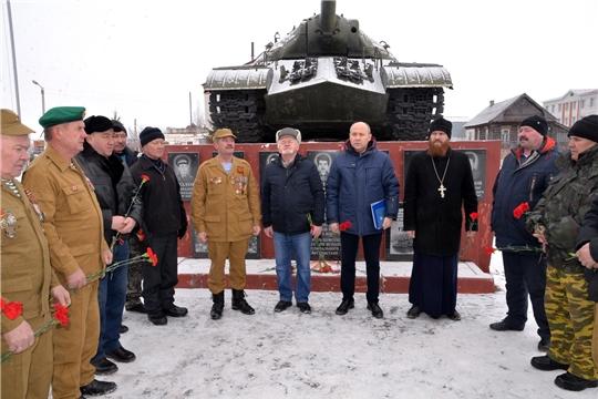 Глава администрации района поздравил воинов- афганцев с Днем памяти о россиянах, исполнявших служебный долг за пределами Отечества