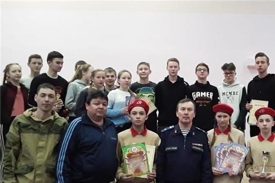 ВПК «Паттар» МБОУ «Батыревская СОШ №2» - призер республиканских соревнований по военно-прикладному троеборью