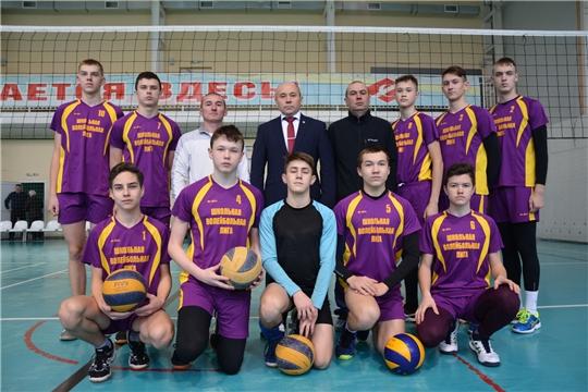 В столице Чувашии проходит волейбольный турнир на призы вице-адмирала Владислава Ильина